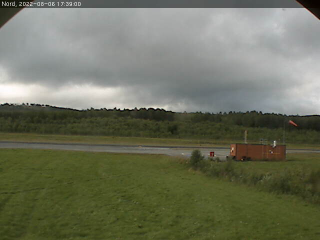 Fagerhaug - Oppdal airport; north